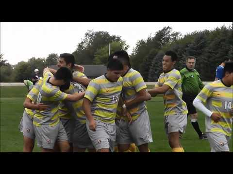 Highlights: Men's soccer vs. NIACC (9/24/2014) W, 4-3