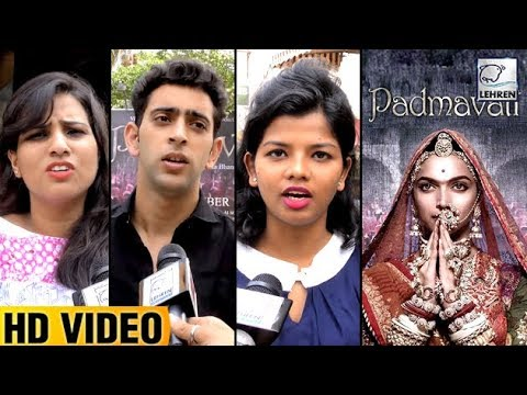 Public REACTS To Padmavati Controversy | Deepika P
