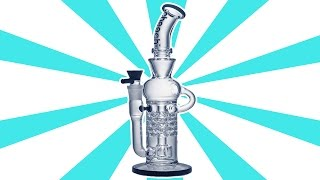 Cheech Spoke Recycler - (Glass Review) by Strain Central
