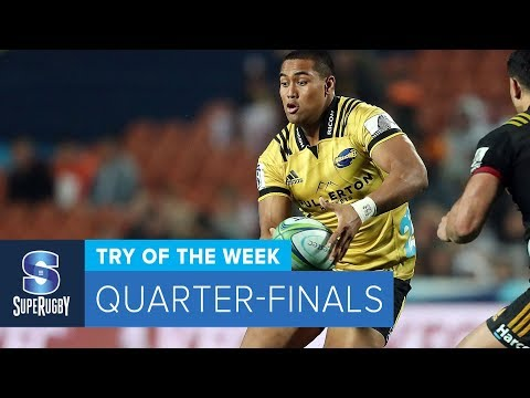 TRY OF THE WEEK: 2018 Super Rugby Quarter-Finals (видео)