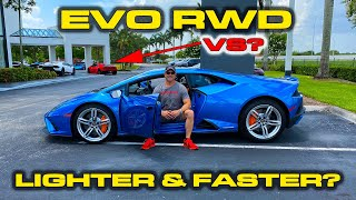 2020 EVO RWD FIRST TEST * Faster than my old Lamborghini Huracan LP610-4? * 0-60, 60-130, 1/4 Mile by DragTimes