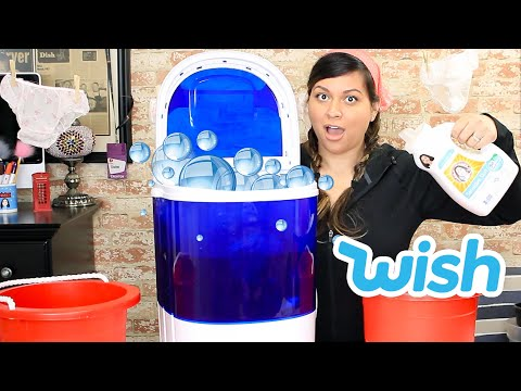 Portable Washing Machine Wish Review  - Vivian Tries