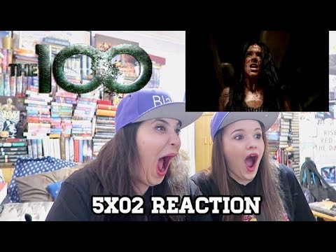 "THE 100 5X02 ""RED QUEEN"" REACTION"