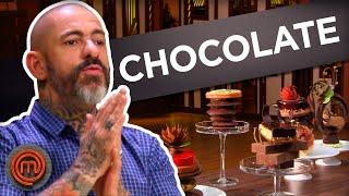 5 MOMENTOS INCRÍVEIS COM CHOCOLATE | LISTAS MASTERCHEF