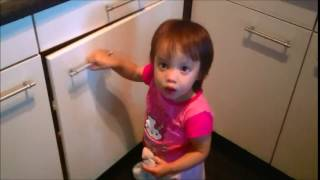 IKEA CHILD LOCK FAIL ( 2 year old opens cabinet with Ikea childlock )