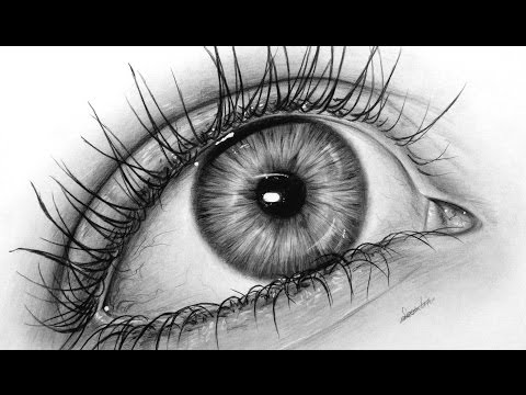 How To Draw A Realistic Eye With Graphite, Drawing Tutorial | Leontine Van Vliet