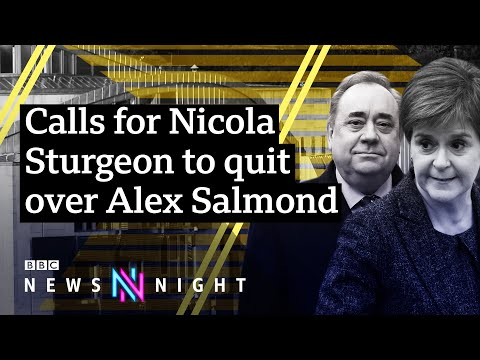 Holyrood Inquiry: Calls for Nicola Sturgeon to quit over Alex Salmond revelations - BBC Newsnight