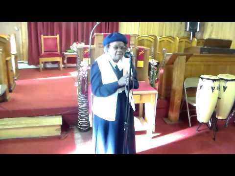 Old Time Apostolic Singing- Mother Milborne