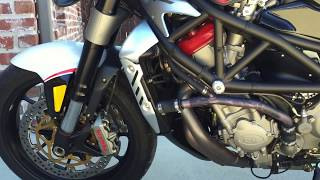 1. 2009 MV Agusta  Brutale 1078RR - cold start (for sale)
