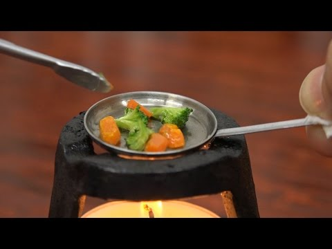 Freizeitaktivitäten | Miniatur-Kochen
