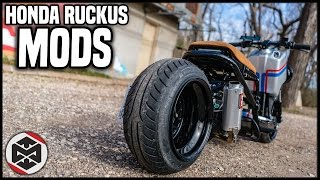 2. 2016 Honda Ruckus GY6 Mods! Total Cost?