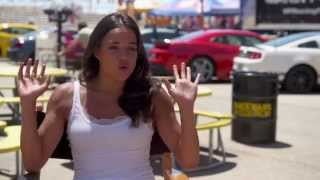 Michelle Rodriguez Furious 7 Interview - Fast&Furious 7