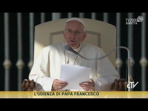 catechesi di papa francesco nell'udienza generale del 19 ottobre 2016