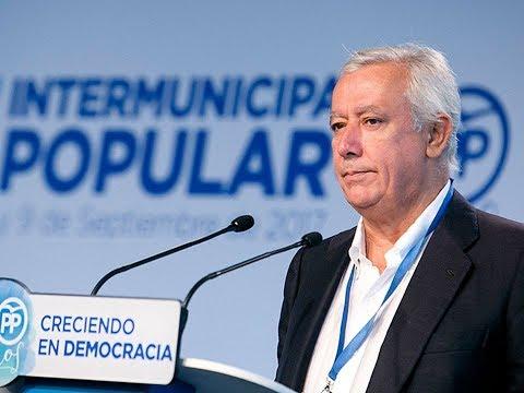 """Arenas: """"Los ayuntamientos no pueden estar al servicio de aquellos que quieren romper España"""""""