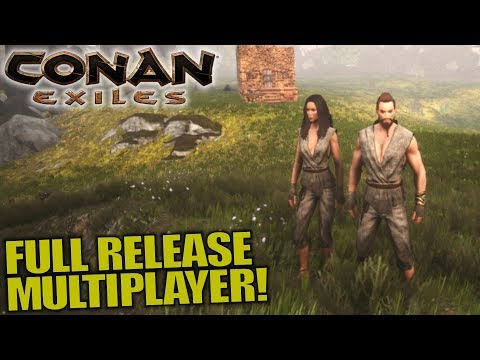 FULL RELEASE MULTIPLAYER!   Conan Exiles   Let's Play Multiplayer Gameplay   S03E01