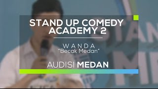 Video Becak Medan - Wanda (SUCA 2 - Audisi Medan) MP3, 3GP, MP4, WEBM, AVI, FLV November 2017