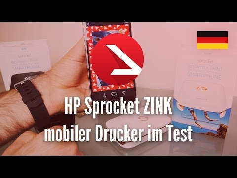 HP Sprocket ZINK mobiler Drucker im Test
