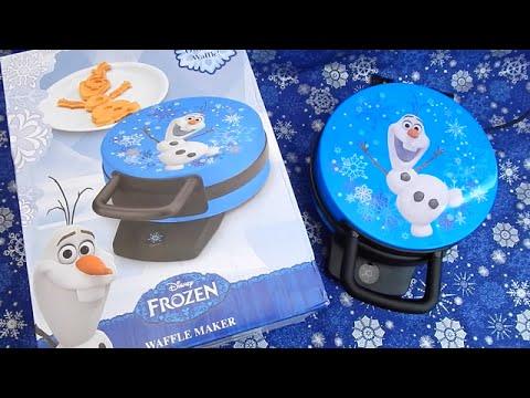Olaf Waffle Maker Disney Frozen