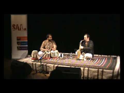 Jesse Bannister - Saxophone, Bhupinder Chaggar - Tabla, Raag Puriya Kalyan