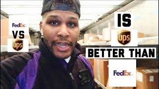IS UPS BETTER THAN FEDEX? | FEDEX VS UPS