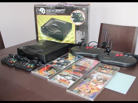 Ampliando la Cole 9 Neo Geo CD