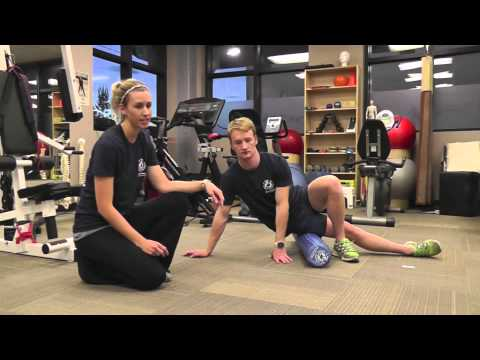 IT Band Foam Roller Exercise