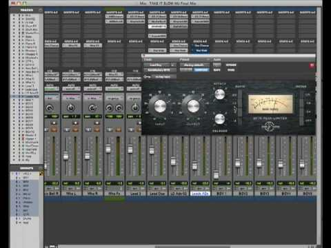 Pro Tools LE 8 Compressing Vocals with BF76 samplekings.com