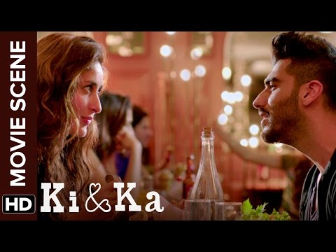 Arjun's unique way of romance | Ki & Ka | Arjun Kapoor, Kareena Kapoor | Movie Scene