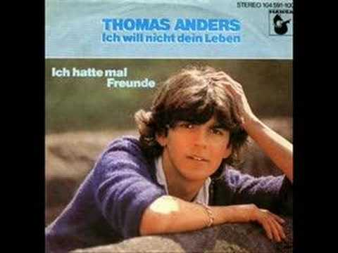 Tekst piosenki Thomas Anders - Ich Will Nicht Dein Leben po polsku