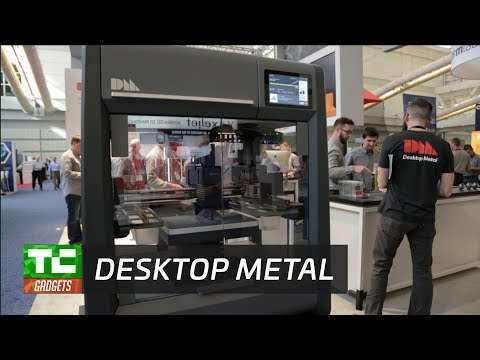 Desktop Metal gets $115 million in funding to deliver metal 3D printing for manufacturing