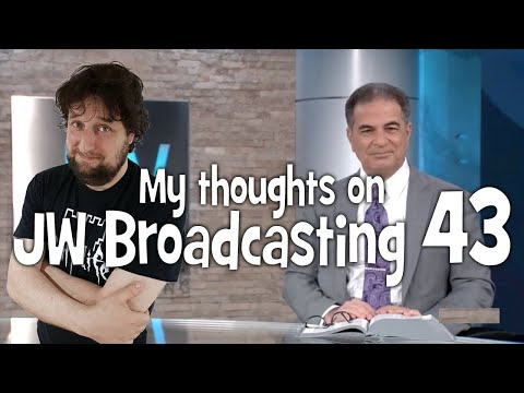 My Thoughts On Jw Broadcasting 43 - July 2018 (with Mark Noumair)