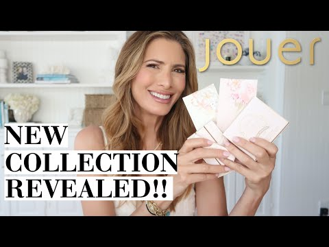 Jouer Cosmetics Champagne & Macarons Reveal