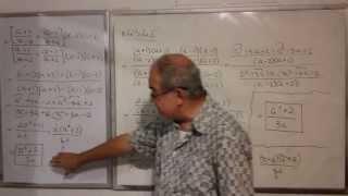 Algebra Intermedia - Lección 30 - B (fracciones Complejas)