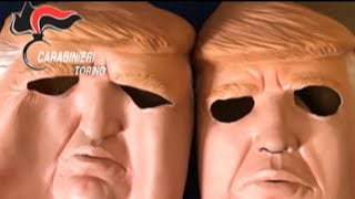 """Police in Italy have arrested two brothers suspected of robbing ATMs while wearing Donald Trump masks. CBSN anchor Stephanie Sy has more on this story.Subscribe to the """"CBSN"""" Channel HERE: http://bit.ly/1Re2MgSWatch """"CBSN"""" live HERE: http://cbsn.ws/1PlLpZ7Follow """"CBSN"""" on Instagram HERE: http://bit.ly/1PO0dkxLike """"CBSN"""" on Facebook HERE: http://on.fb.me/1o3Deb4Follow """"CBSN"""" on Twitter HERE: http://bit.ly/1V4qhIuGet the latest news and best in original reporting from CBS News delivered to your inbox. Subscribe to newsletters HERE: http://cbsn.ws/1RqHw7TGet your news on the go! Download CBS News mobile apps HERE: http://cbsn.ws/1Xb1WC8Get new episodes of shows you love across devices the next day, stream local news live, and watch full seasons of CBS fan favorites anytime, anywhere with CBS All Access. Try it free! http://bit.ly/1OQA29B---CBSN is the first digital streaming news network that will allow Internet-connected consumers to watch live, anchored news coverage on their connected TV and other devices. At launch, the network is available 24/7 and makes all of the resources of CBS News available directly on digital platforms with live, anchored coverage 15 hours each weekday. CBSN. Always On."""