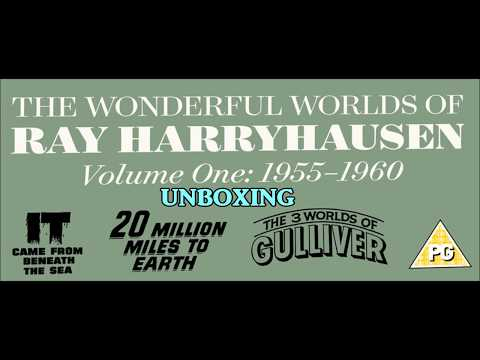 The Wonderful Worlds of Ray Harryhausen Vol. 1 Unboxing & Review