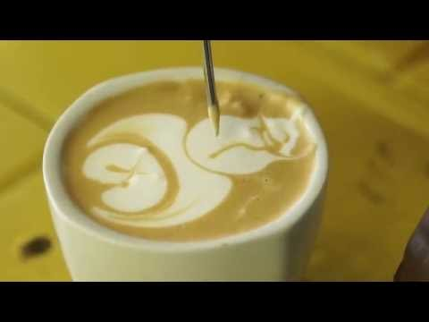 VIDEO: Latte Art - How to pour a Pirate design - This one is a whole latte fun! See what we did there? ;) Sibusiso Ncube of Famous Brands was the 2016 Gauteng Latte Art Champ. So you're learning from the best. Sbu was going to play it safe with a classic rosetta but then at the last moment decided to show off his mad skills with the pirate design he came up with himself! You should definitely try this one at home!
