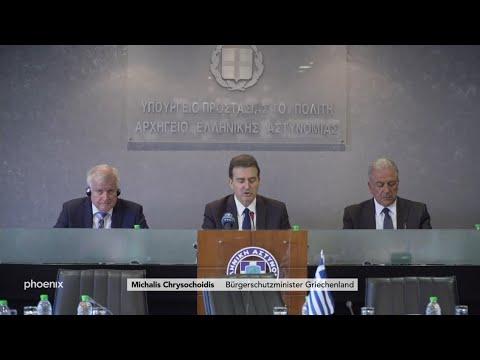 Pressekonferenz mit Innenminister Seehofer (CSU) zur  ...