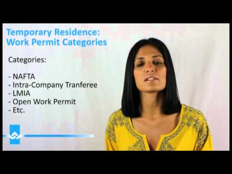 Canada Work Permit Categories Video