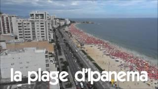 Französisch lernen # 1 time lapse # la plage d'Ipanema