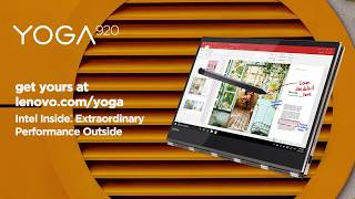 In Action: Lenovo Yoga 920 Laptop