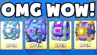 OPENING EVERY CHEST | Clash Royale LEGENDARY / SUPER MAGICAL / EPIC ...