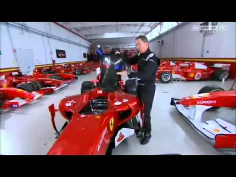 Martin Brundle takes us through the insides of an F1 car (SKY) China Build up