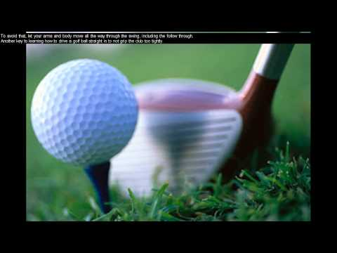 Daily Golf Tips/Golf Lessons For Beginners – Golf Tips For Driving The Ball Straight – Day 8