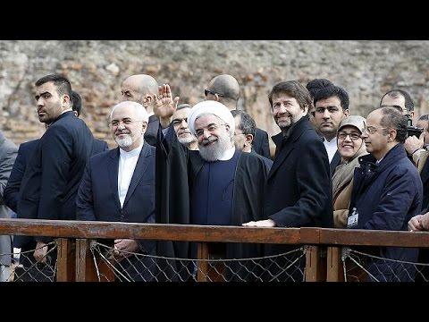 Στο Παρίσι, μετά τη Ρώμη, ο Πρόεδρος του Ιράν