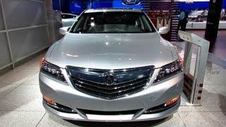 2014 Acura RLX P-AWS - Silver Exterior And Interior Walkaround - 2013 Detroit Auto Show