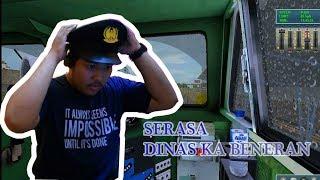 Trainz Simulator Indonesia : CAB Ride KA PENATARAN 433 WNO - WR