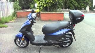 3. 2008 SYM SYMPLY 50 MOPED 4T SCOOTER VGC FSH NEW MOT & TAX 3180 MILES SUPERB BIKE