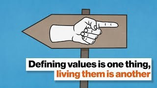 Defining values is one thing, living them is another | Aaron Hurst by Big Think