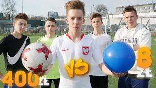 Video Plastikowa Piłka 8zł vs Prawdziwa Piłka 400zł! | PNTCMZ MP3, 3GP, MP4, WEBM, AVI, FLV Juni 2018