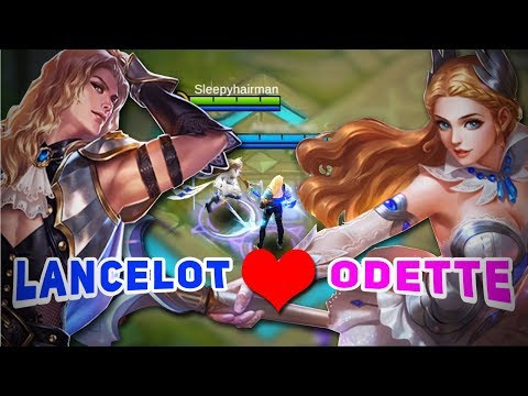 WHEN LANCELOT and ODETTE PLAY TOGETHER ! Perfect Couple Combination